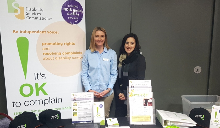DSC at the Disability Recreation and Respite Expo