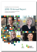 Cover image of the DSC 2018-19 Annual Report