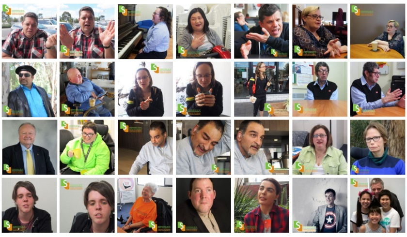 International Day of People with Disability 2016 - Collage of photos
